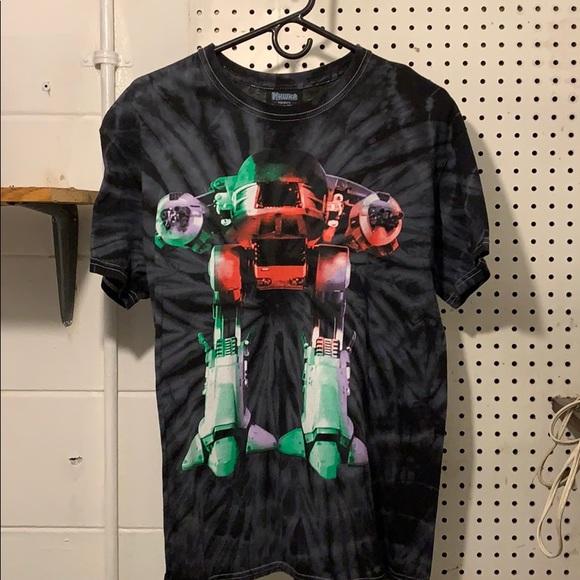 60882cfbd mishka Shirts | Nyc X Robocop Ed209 Tiedye | Poshmark